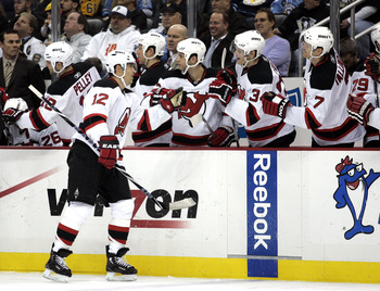 The Devils have not been able to celebrate enough, as the scoring has been practically non-existent.
