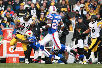 Can the Steelers run the ball effictively enough to win in the Playoffs? No