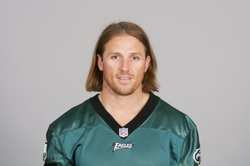 PHILADELPHIA - 2009:  Kevin Curtis of the Philadelphia Eagles poses for his 2009 NFL headshot at photo day in Philadelphia, Pennsylvania.  (Photo by NFL Photos)