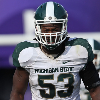 Greg Jones, LB, Michigan State