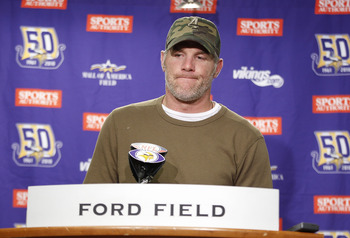 Favre will still feel like he needs to prove people wrong.