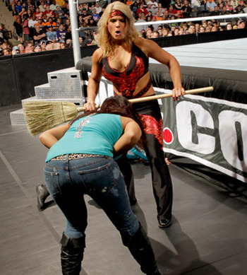 Beth Phoenix and Layla, photo copyright to WWE.com