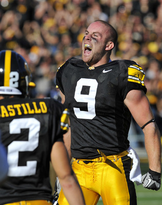 Tyler Sash sparked the defense against the Spartans in 2010.
