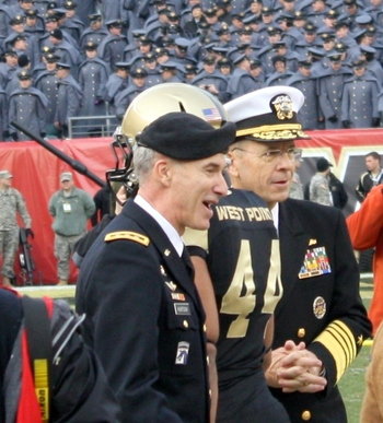 Lt. Gen. Huntoon with Admiral Mullen