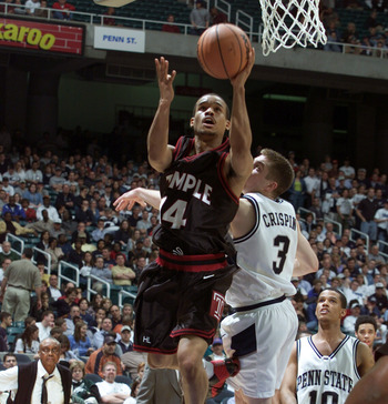 Lunn Greer led Temple past Penn State in the 2001 Sweet 16.