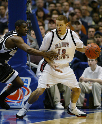 Delonte West was a key member of the 2004 Saint Joseph's (PA) Hawks.
