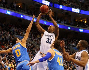 Villanova's Dante Cunningham, in one of his many NCAA Tournament wins.