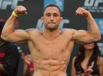 UFC lightweight champion, Frankie Edgar