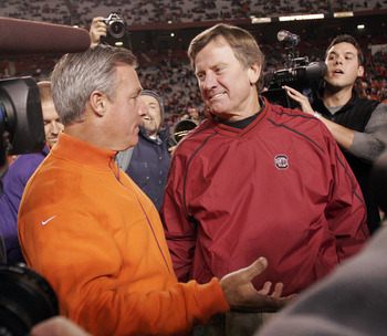 Spurrier faced this Bowden at USC and his daddy when at Florida.