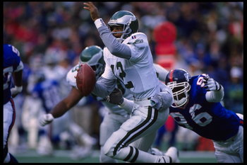 Eagles QB/Punter Randall Cunningham