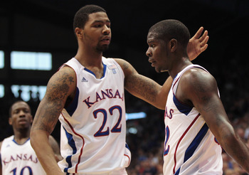 Marcus Morris and Josh Selby hope to lead Kansas to another Big 12 title.