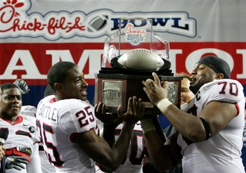 The trophy's nice, but a BCS game would be nicer.