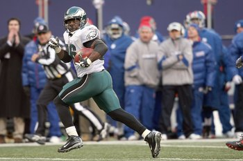 Eagles RB Brian Westbrook