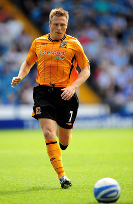 Barmby in action for Tigers