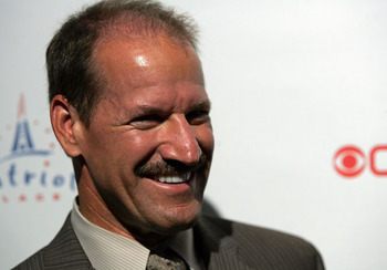 FOXBORO, MA - SEPTEMBER 06:  The NFL Today's Bill Cowher attends the grand opening of the CBS Scene Restaurant & Bar on September 6, 2008 in Foxboro, Massachusetts.  (Photo by Mary Schwalm/Getty Images)
