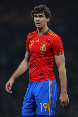 GLASGOW, SCOTLAND - OCTOBER 12:  Fernando Llorento of Spain during the UEFA EURO 2012 Group I qualifying match between Scotland and Spain at Hampden Park on October 12, 2010 in Glasgow, Scotland.  (Photo by Clive Rose/Getty Images)