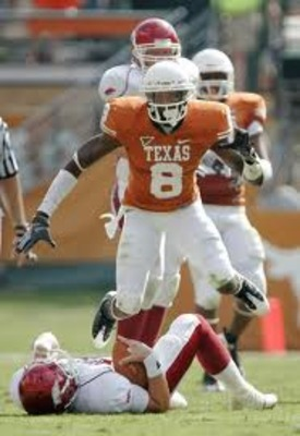 Texas cornerback Chykie Brown