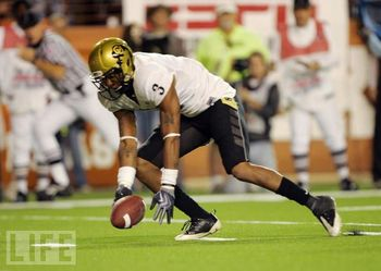 University of Colorado cornerback Jimmy Smith