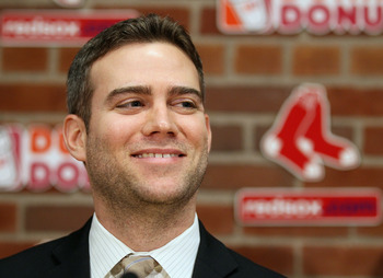 GM Theo Epstein has all the reason in the world to be smiling.