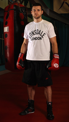 Carl Froch awaits his chance at victory in 2011.