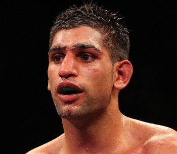 Amir Khan is rated as one of the best in his division.