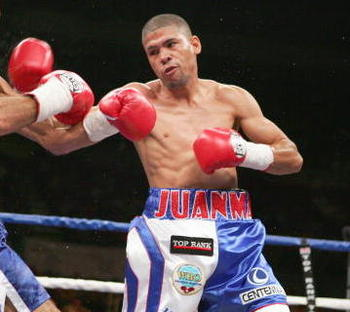 Juan Manuel Lopez is being primed to be the sucessor to Felix Trinidad.