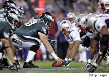The Eagles-Patriots matchup would put two of the highest scoring offenses in the league up against one another.