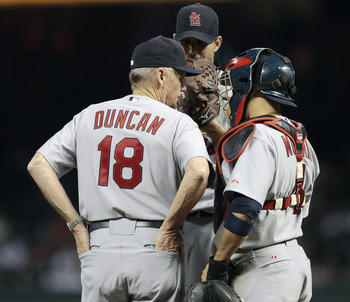 Duncan will play a key role in keeping the Pitching staff right for the Cardinals.