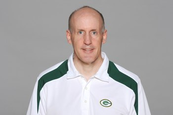 GREEN BAY, WI - 2009:  Joe Philbin of the Green Bay Packers poses for his 2009 NFL headshot at photo day in Green Bay, Wisconsin.  (Photo by NFL Photos)