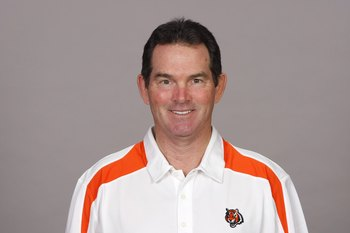 CINCINNATI - 2009:  Mike Zimmer of the Cincinnati Bengals poses for his 2009 NFL headshot at photo day in Cincinnati, Ohio. (Photo by NFL Photos)