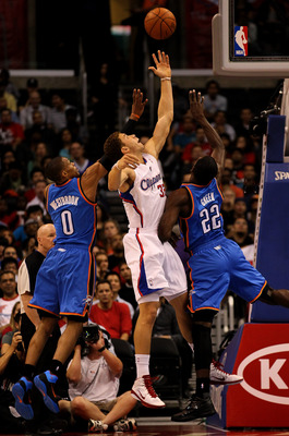 Blake Griffin soaring about the rest