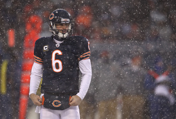Cutler has the Bears in the playoffs.