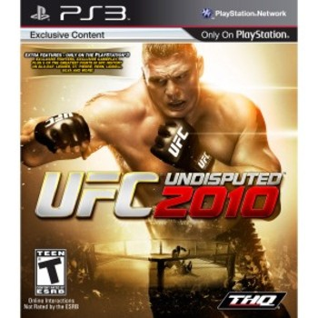 UFC Undisputed 2010 for PS3 ($59.99)