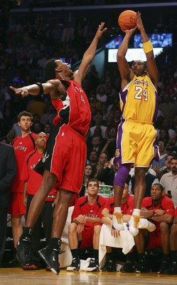 Kobe Bryant was unstoppable in his 81 point game against Toronto