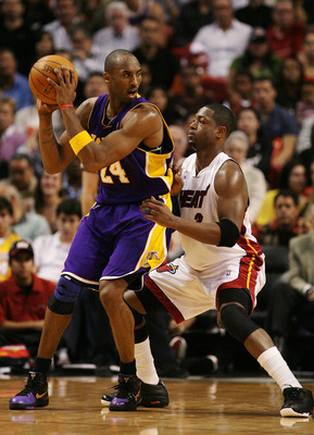 Kobe Bryant would have an advantage in the post in a matchup with Dwyane Wade