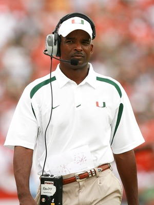 Former Miami coach Randy Shannon could be a highly sought-after defensive coordinator in 2011