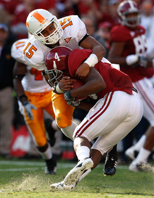Vols safety Janzen Jackson was one of the top recruits in the Vols '09 class