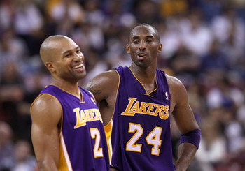 Can team leaders Kobe and Fisher motivate LA to play its best against Miami?