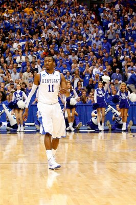 Was John Wall really at Kentucky to get an education? I think we all know he wasn't.