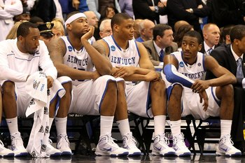 The Kentucky basketball players receive no money for their jerseys which are sold in stores.