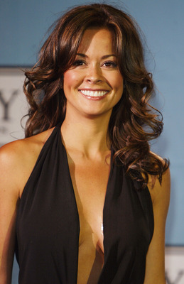 HOLLYWOOD - JULY 14:  TV personality and model Brooke Burke poses backstage at the 12th Annual ESPY Awards held at the Kodak Theatre on July 14, 2004 in Hollywood, California.  This year's ESPY's will air Sunday, July 16th on ESPN beginning 9 PM EST/6 PM