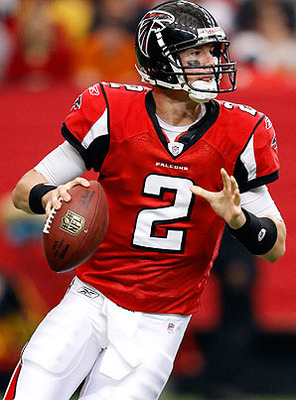 Pictured: Quarterback Matt Ryan