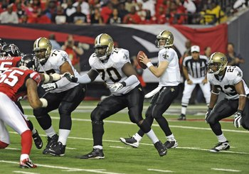 The Falcons defense will need to put pressure on Brees in order to lock up the number one seed in the NFL Playoffs