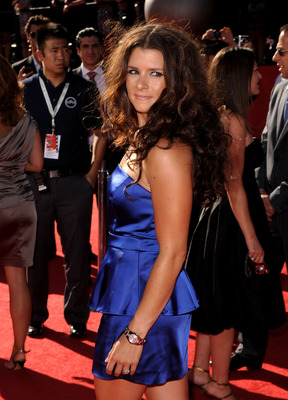 LOS ANGELES, CA - JULY 14:  Race car driver Danica Patrick arrives at the 2010 ESPY Awards at Nokia Theatre L.A. Live on July 14, 2010 in Los Angeles, California.  (Photo by Jason Merritt/Getty Images)