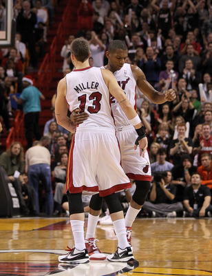 Mike Miller and James Jones