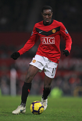 MANCHESTER, ENGLAND - DECEMBER 15:  Danny Welbeck of Manchester United in action during the Barclays Premier League match between Manchester United and Wolverhampton Wanderers at Old Trafford on December 15, 2009 in Manchester, England. (Photo by Alex Liv