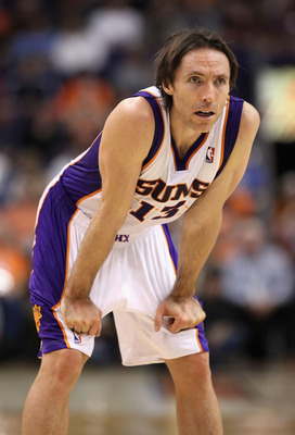 PHOENIX - DECEMBER 15:  Steve Nash #13 of the Phoenix Suns during the NBA game against the Minnesota Timberwolves at US Airways Center on December 15, 2010 in Phoenix, Arizona. NOTE TO USER: User expressly acknowledges and agrees that, by downloading and