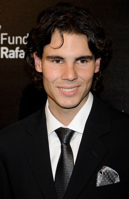 MADRID, SPAIN - DECEMBER 22:  Rafael Nadal attends 'Rafa Nadal Foundation' Charity Gala at Cibeles Palace on December 22, 2010 in Madrid, Spain.  (Photo by Carlos Alvarez/Getty Images)