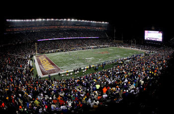 U of M's TCF could host all 2011 home games but is that a good thing?
