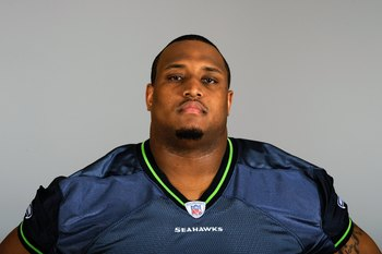 SEATTLE - 2009:  Rob Sims of the Seattle Seahawks poses for his 2009 NFL headshot at photo day in Seattle, Washington.  (Photo by NFL Photos)